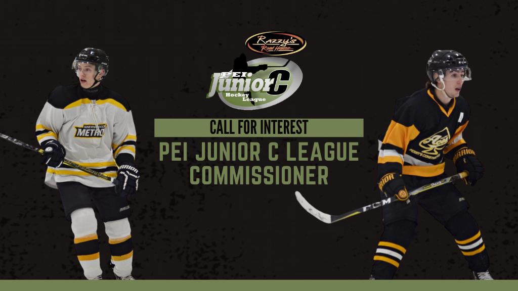 PEI Jr. C League Commissioner – Call for Interest