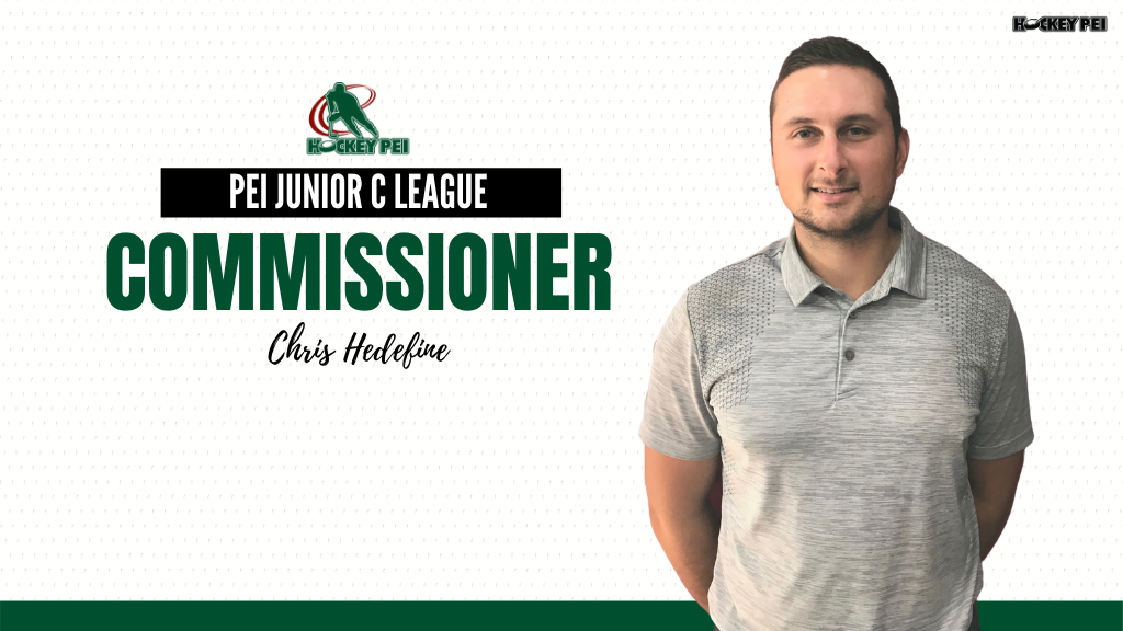 Doucette steps down, Hedefine in as new Commissioner of PEI Junior C League