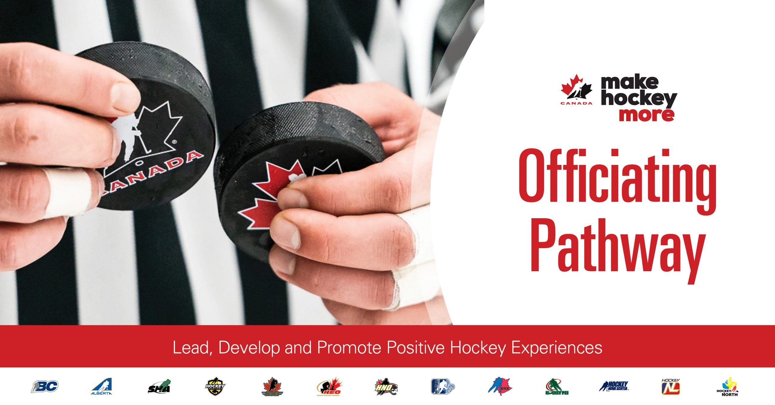 HOCKEY CANADA ANNOUNCES NEW OFFICIATING PATHWAY