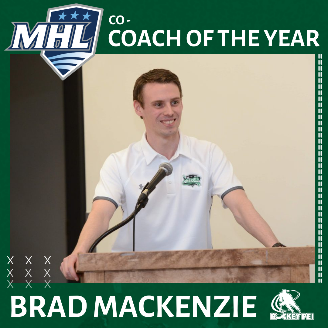 MHL NAMES BRAD MACKENZIE AS 2020-21 CO-COACH OF THE YEAR