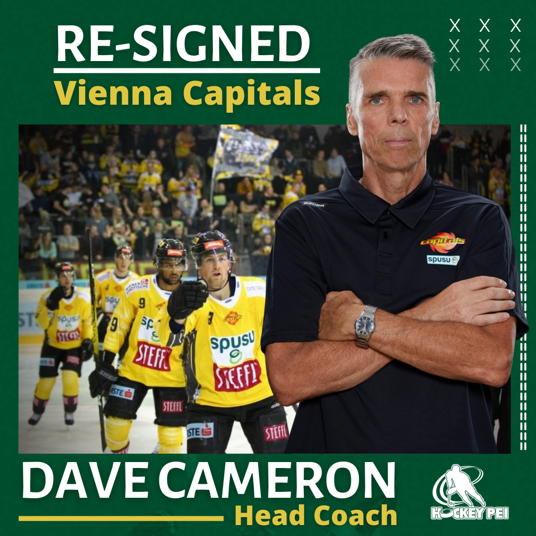 PEI'S DAVE CAMERON HEADED BACK TO EUROPE