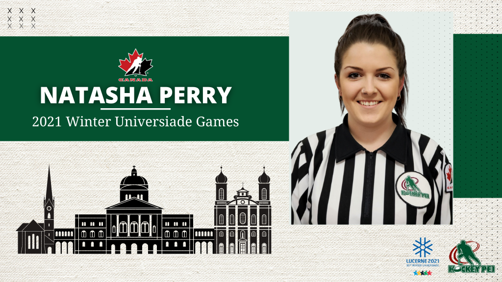 PERRY SELECTED TO OFFICIATE WINTER UNIVERSIADE GAMES